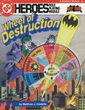 DC Heroes Role-Playing Module Wheel of Destruction SC (1985 Mayfair) 0