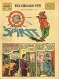 Spirit Weekly Newspaper Comic (1940-1952) Sep 9 1945