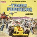 Transformers SC (1984 Marvel Books) The Great Car Rally 1-1ST