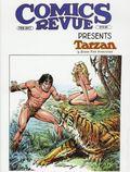 Comics Revue Presents Tarzan TPB (2017 Manuscript Press) 1-1ST