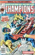 Champions (1975-1978 Marvel 1st Series) UK Edition 11UK