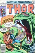 Thor (1962-1996 1st Series) UK Edition 273UK