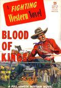 Fighting Western Novel (1940 Hillman Publications) Pulp Reprints 41