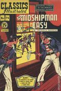 Classics Illustrated 074 Mr. Midshipman Easy (1950) Canadian Edition 1