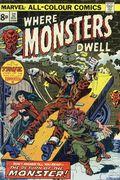 Where Monsters Dwell (1970) UK Edition 32UK