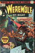 Werewolf by Night (1972 1st Series) UK Edition 28UK