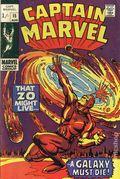 Captain Marvel (1968 1st Series Marvel) UK Edition 15UK