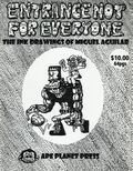 Entrance Not for Everyone SC (2008 Ape Planet Press) The Ink Drawings of Miguel Aguilar 1-1ST