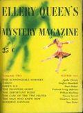 Ellery Queen's Mystery Magazine (1941-Present Davis-Dell) Vol. 2 #1