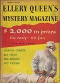 Ellery Queen's Mystery Magazine (1941-Present Davis-Dell) Vol. 27 #2