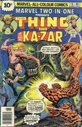 Marvel Two-in-One (1974 1st Series) UK Edition 14UK