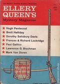 Ellery Queen's Mystery Magazine (1941-Present Davis-Dell) Vol. 34 #1
