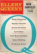 Ellery Queen's Mystery Magazine (1941-Present Davis-Dell) Vol. 38 #3