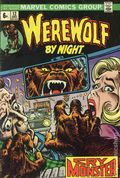 Werewolf by Night (1972 1st Series) UK Edition 12UK
