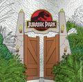 Jurassic Park Coloring Book SC (2019 Dark Horse) 1-1ST
