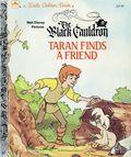 Black Cauldron Taran Finds a Friend HC (1985 Golden Books) A Little Golden Book 1-REP
