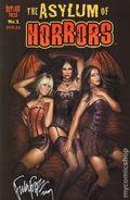 Asylum of Horrors TPB (2008-2009 Asylum Press) 1SIGNED-1ST