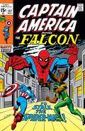 Captain America (1968 1st Series) National Diamond 137NDS