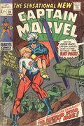 Captain Marvel (1968 1st Series Marvel) UK Edition 20UK