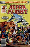 Alpha Flight (1983 1st Series) Canadian Price Variant 1