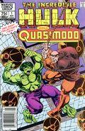 Incredible Hulk vs. Quasimodo (1983 Marvel) Canadian Price Variant 1