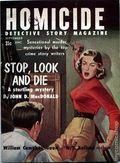 Homicide Detective Story Magazine (1956 Arnold Magazines) 1