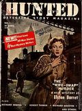 Hunted Detective Story Magazine (1954-1956 Star Publications) 1