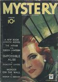 Mystery (1932-1935 Tower Magazines) Vol. 9 #1