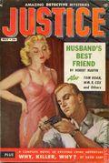 Justice (1955-1956 Non-Pareil Publishing) Vol. 1 #1