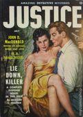 Justice (1955-1956 Non-Pareil Publishing) Vol. 1 #2