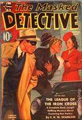 Masked Detective (1940-1943 Better Publications) Pulp Vol. 2 #1
