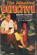 Masked Detective (1940-1943 Better Publications) Pulp Vol. 2 #3