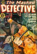 Masked Detective (1940-1943 Better Publications) Pulp Vol. 4 #2