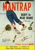Mantrap (1956 Eagle Publications) Pulp Vol. 1 #1