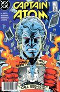 Captain Atom (1987 DC) Canadian Price Variant 18