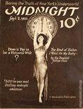 Midnight Mysteries (1922-1923 Midnight Publishing) Pulp Vol. 1 #3