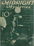 Midnight Mysteries (1922-1923 Midnight Publishing) Pulp Vol. 1 #14