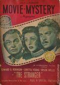 Movie Mystery Magazine (1946-1947 Anson Bond Publications) 1