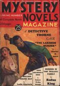 Mystery Novels Magazine (1932-1936 Doubleday/Winford) Pulp Vol. 1 #4
