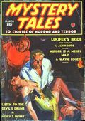 Mystery Tales (1938-1940 Western Fiction Publishing) Pulp Vol. 2 #3