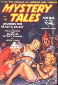 Mystery Tales (1938-1940 Western Fiction Publishing) Pulp Vol. 3 #1