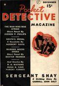 Pocket Detective Magazine (1936-1937 Street & Smith) Pulp Vol. 1 #1