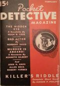 Pocket Detective Magazine (1936-1937 Street & Smith) Pulp Vol. 1 #3