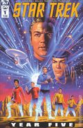 Star Trek Year Five (2019 IDW) 1