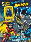 Batman Justice in Gotham City SC (2016 Parragon) Activity Book with Magnet 1-1ST