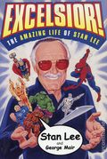 Excelsior! The Amazing Life of Stan Lee SC (2002 Simon & Schuster) A Fireside Book 1-1ST