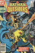 Batman and the Outsiders (1983) Mark Jewelers 21MJ