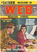Saturn Web Detective Story Magazine (1958-1959 Candar Publishing) Pulp Vol. 1 #6