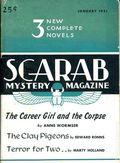 Scarab Mystery Magazine (1950-1951 Black Horse Press) Pulp Vol. 1 #2