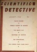 Scientific Detective (1945-1948 C.D./B.E.C. Publishing) Vol. 6 #6